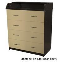 Комод детский пеленальный Соня 80/4 ЛДСП