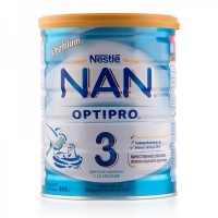 Смесь NAN (Nestle) 3 Optipro (с 12 месяцев) 800гр