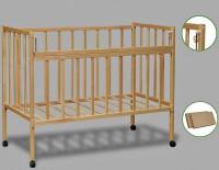Кроватка детская Крошка Кр1-01м, колесо