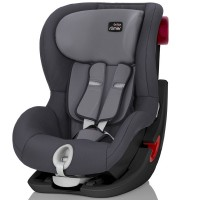 Автокресло Britax Römer King II, Black Series цвет Storm Grey 9-18 кг